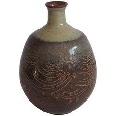 Edwin & Mary Scheier Studio Pottery Vase
