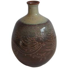Edwin & Mary Scheier Studio Art Pottery Vase