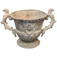 19th Century Lead Urn