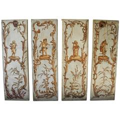"Antique 18th Century Louis ""Par-a-Vent"" Panels"