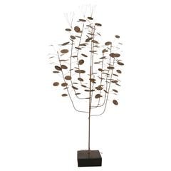 """""""Raindrops"""" Metal Tree Sculpture by Curtis Jere"""