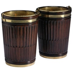 Irish Mahogany Turf Buckets