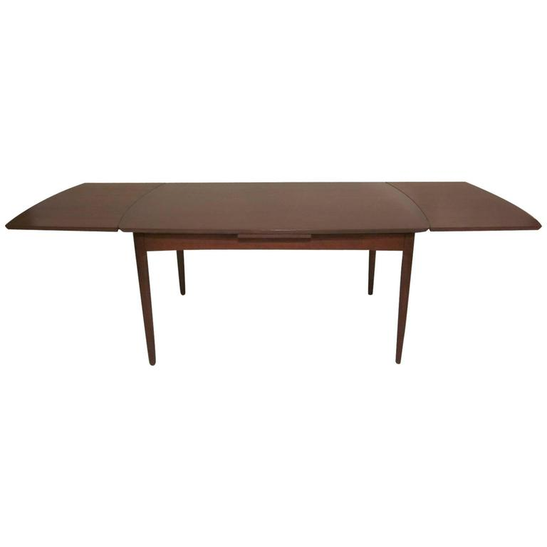 this danish dining table in the style of hans wegner is no longer
