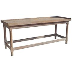 Primitive French Work Table