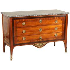 18th Century Louis XVI French Rosewood Chest of Drawers