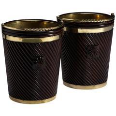 Irish Shell Peat Buckets