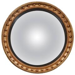 Monumental Statement Quality Regency Period Convex Mirror
