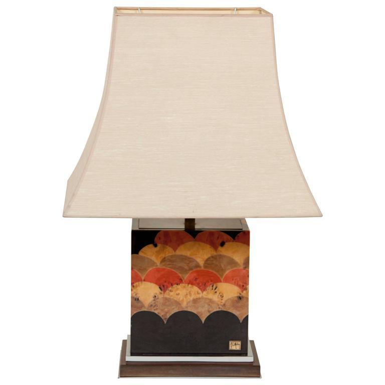 Late 20th Century J. C. Mahey Table Lamp