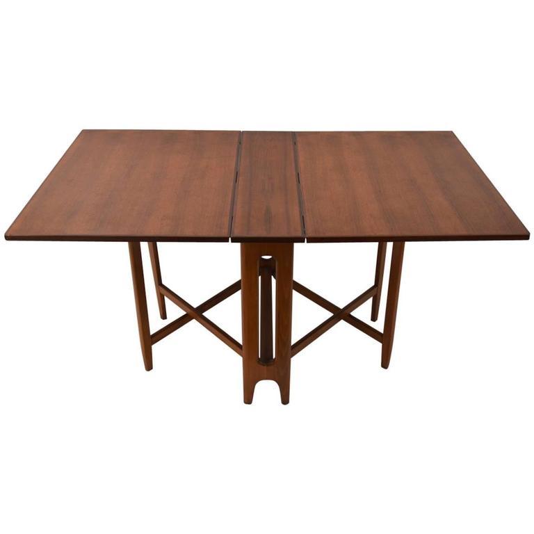 Bruno Mathsson Style Drop Leaf Table at 1stdibs : 3859912l from www.1stdibs.com size 768 x 768 jpeg 22kB
