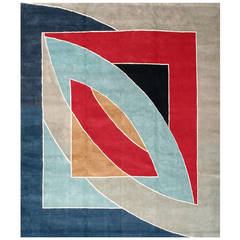 """River of Pounds"" Rug by Frank Stella"