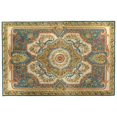 Louis XVI Style French Aubusson Carpet, circa 1920