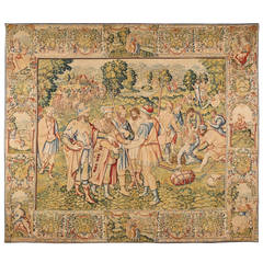 End of 16th Century Brussels tapestry from the Story of Joseph