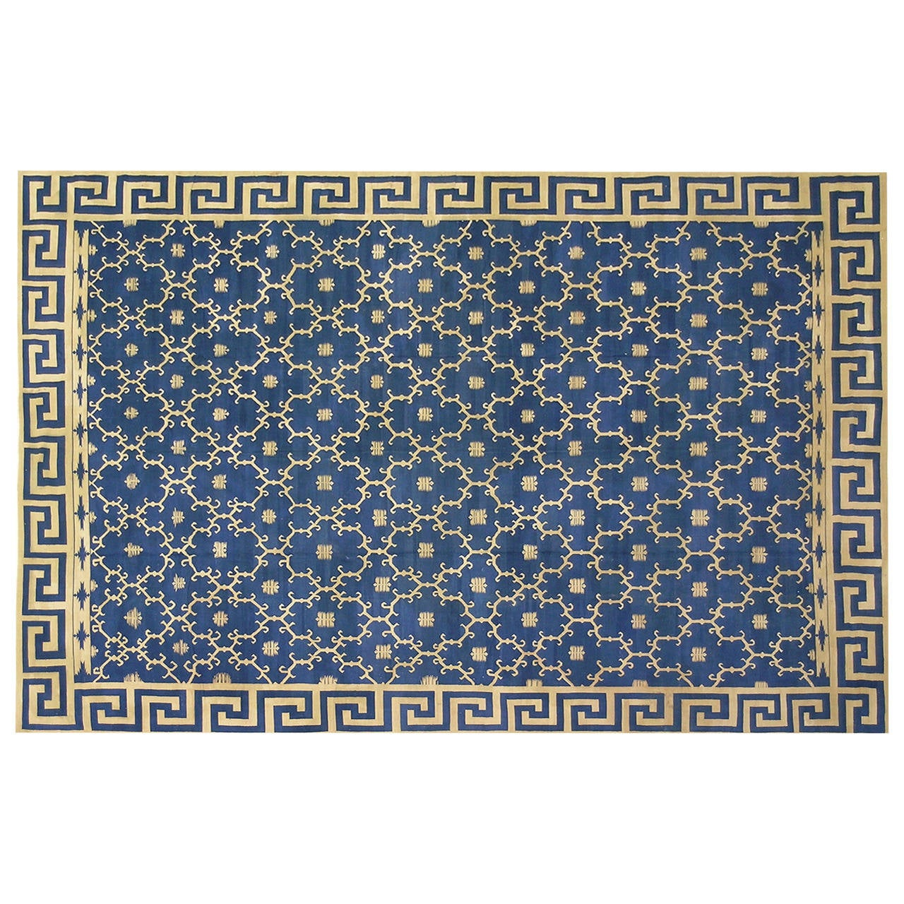 """Early 20th Century Carpet """"Dhurrie"""" For Sale"""