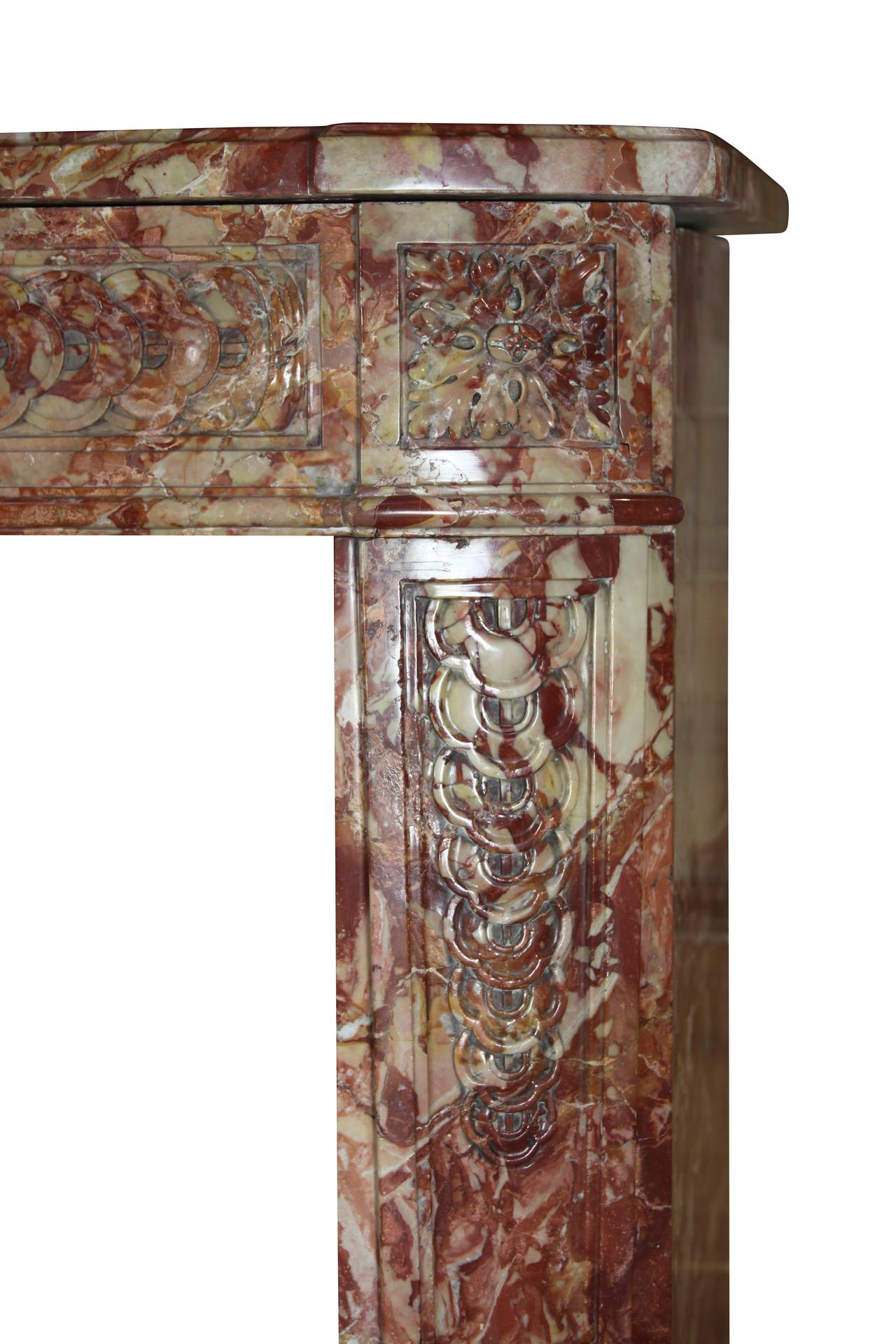 18th Century Royal Marble Antique Fireplace Mantel For Sale At 1stdibs