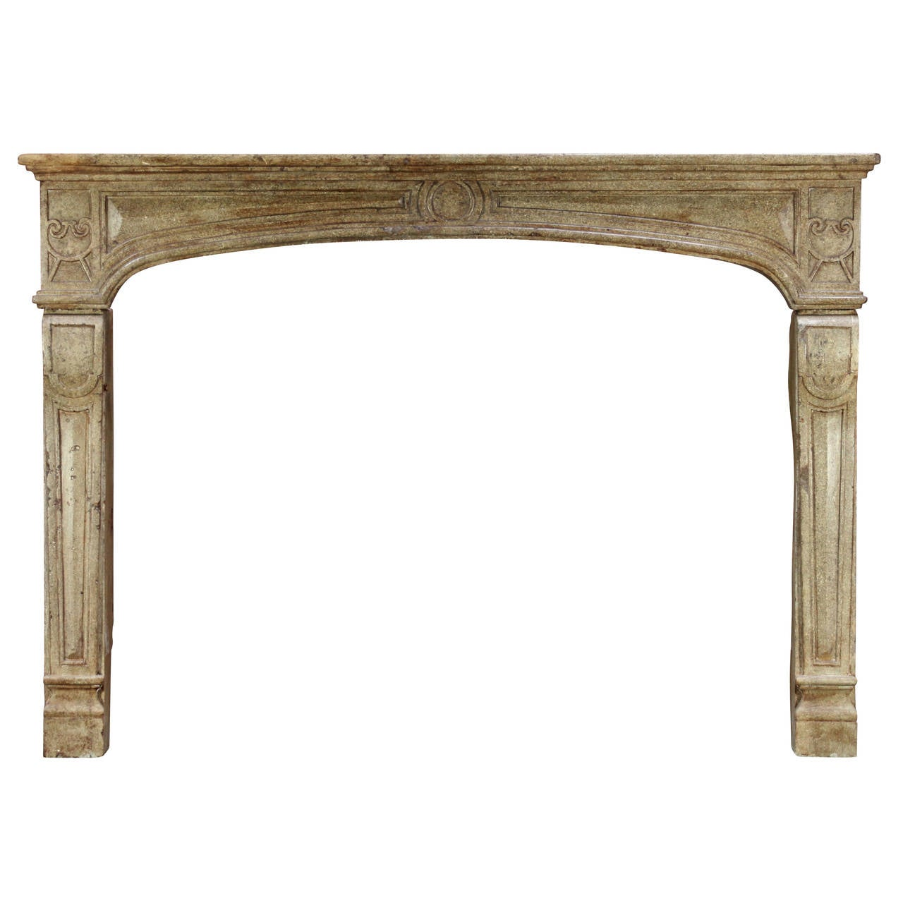 18 Century Hardstone Antique Fireplace Mantel For Sale At 1stdibs