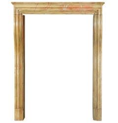 19th Century Louis XIV Style Stone antique  Fireplace Mantel