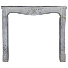 18th Century Stone antique fireplace Mantel from the Regency Period
