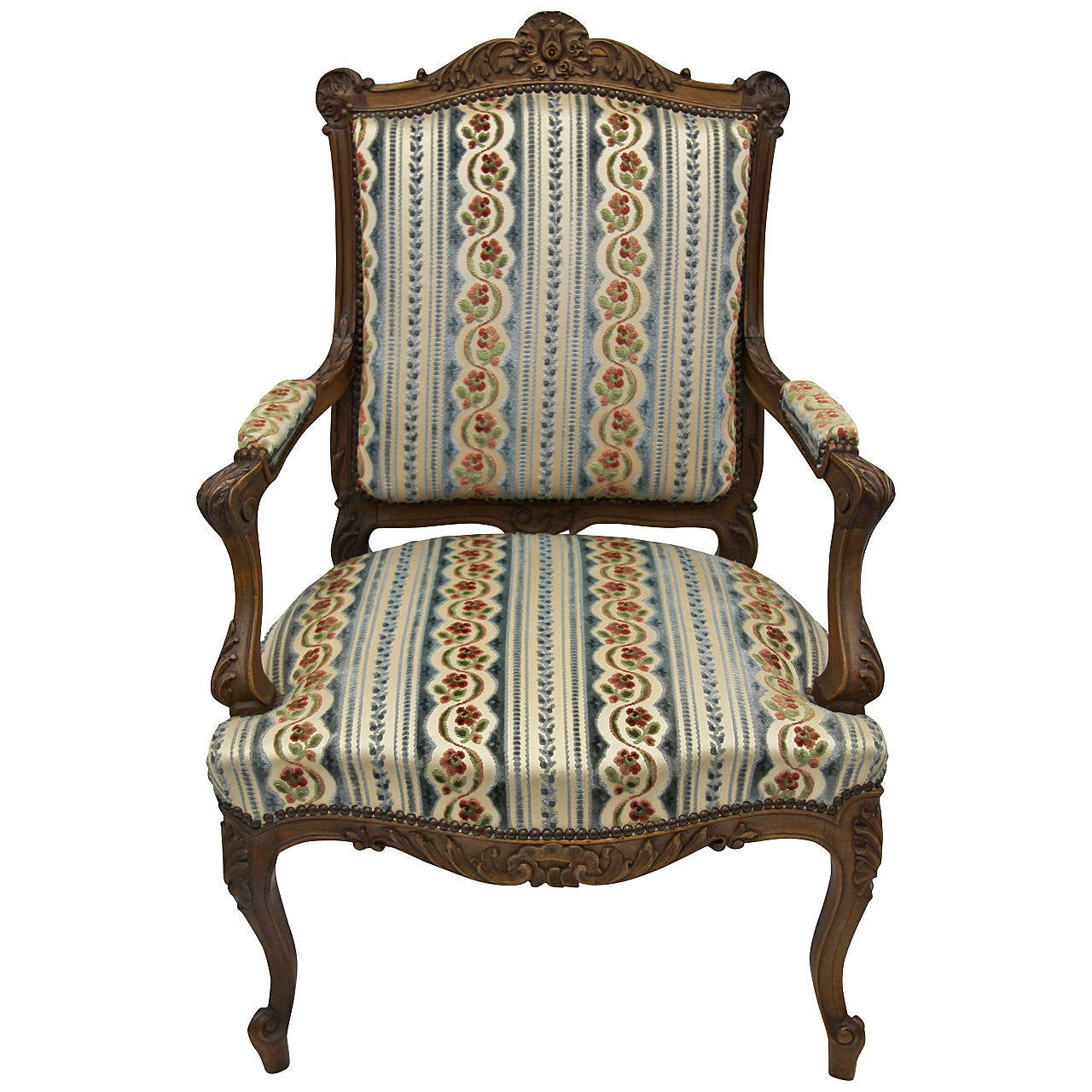 19th Century Renaissance French Fauteuil Chair At 1stdibs