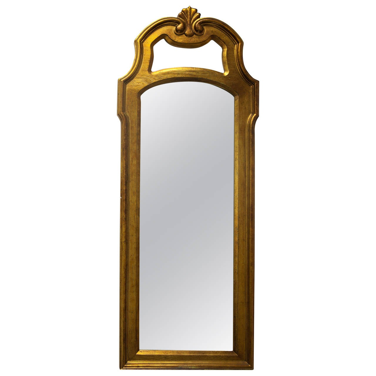 Large mid century modern wall mirror by drexel heritage for Contemporary wall mirrors