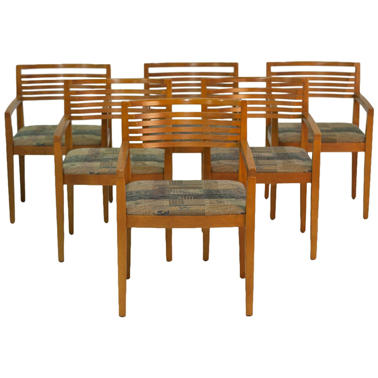 Knoll Dining Chairs MCM by Joe and LInda Ricchio Set of