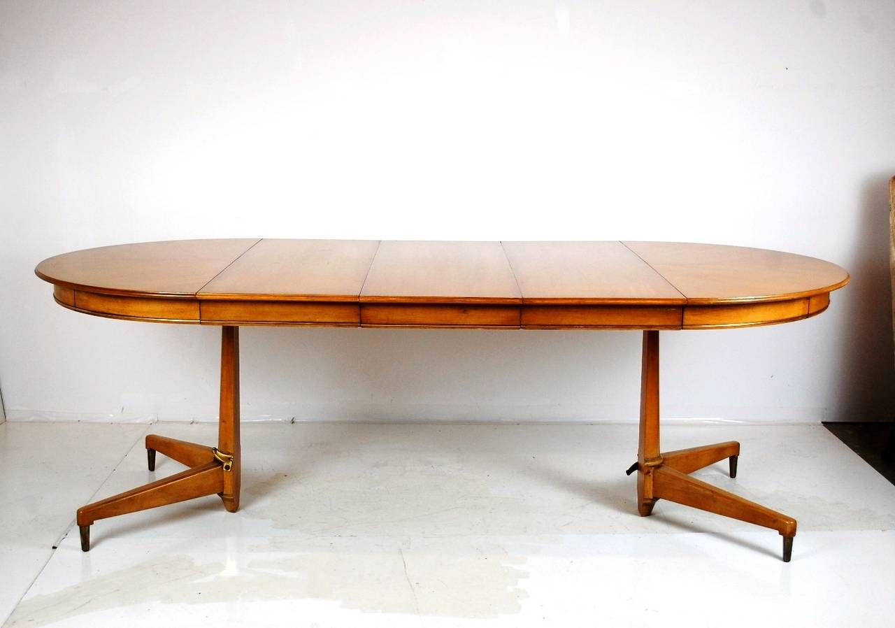 Mid Century Modern Dining Set By JL Metz For Sale