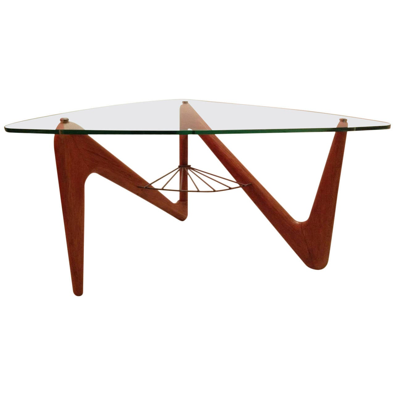 Table Top 1955: Louis Sognot Coffee Table, France, 1955 At 1stdibs
