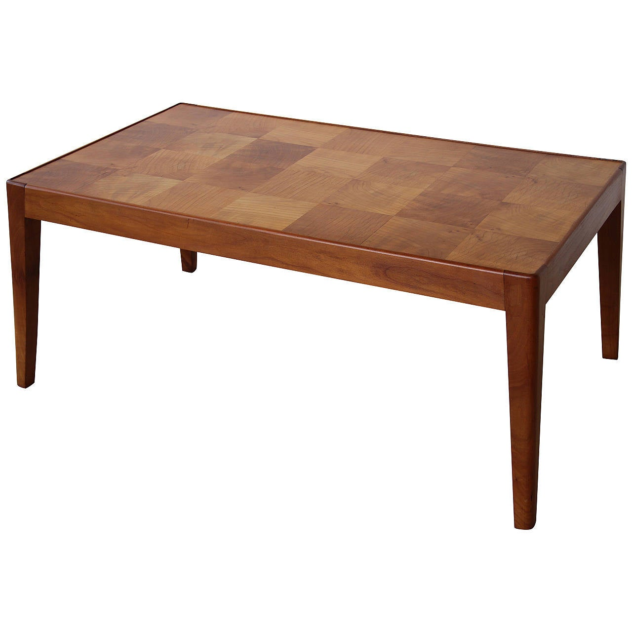 1950 Wild Cherry Coffee Table At 1stdibs