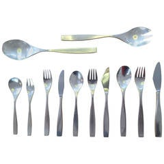 Rosenthal Silver Plate Canteen of Cutlery by Richard Latham