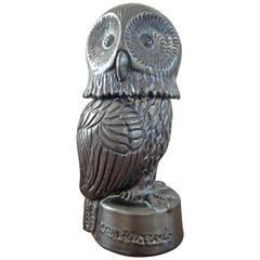 Ceramic Owl Box by Jean Marais, circa 1970