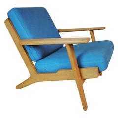 Hans J Wegner GE290 Easy Chair
