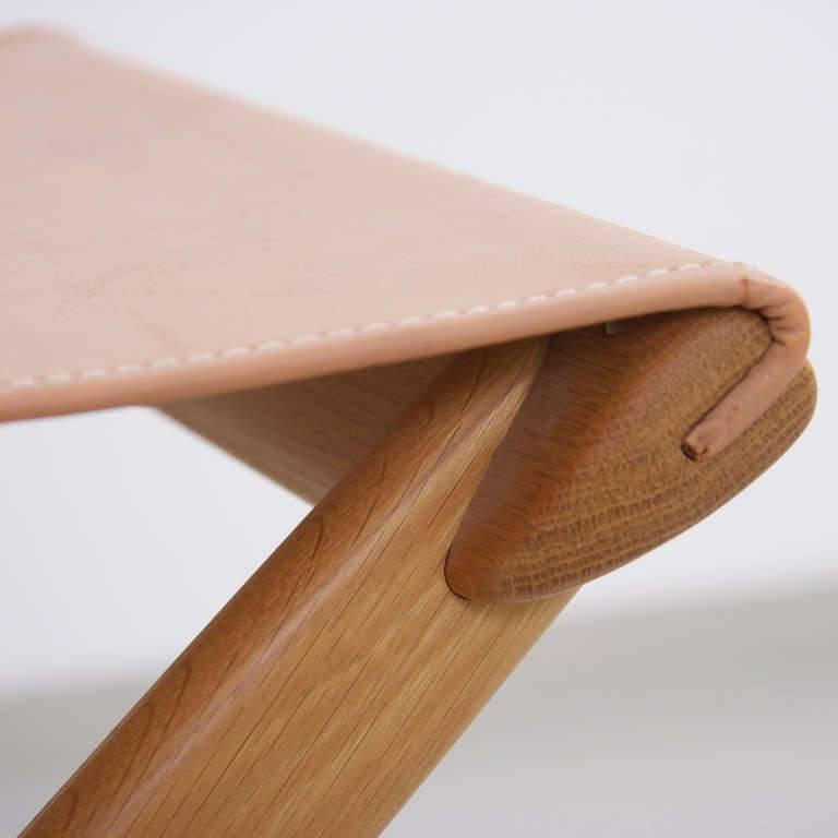 Swedish Folding Stool by Uno and Östen Kristiansson for Luxus Vittsjö For Sale
