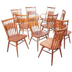 "Set of Ten Kipp Stewart for Drexel ""Centennial"" Chairs"