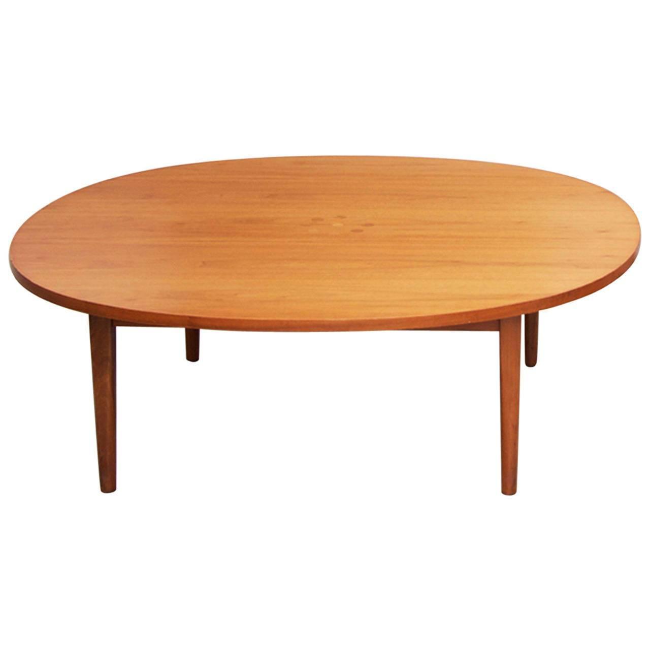 Kipp Stewart Walnut Coffee Table For Drexel At 1stdibs