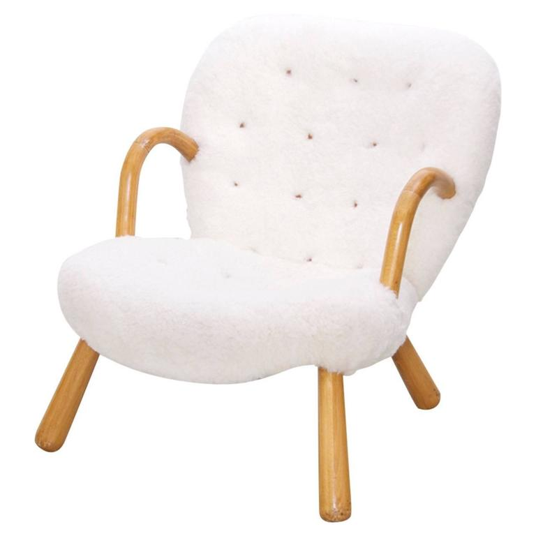 Clam Chair by Philip Arctander For Sale