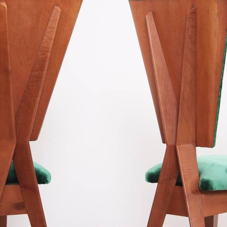 Pair of 1940s Italian Side Chairs 2