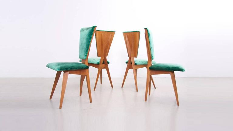 Pair of 1940s Italian Side Chairs 4