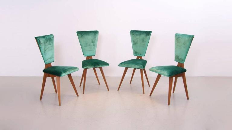 Pair of 1940s Italian Side Chairs 5