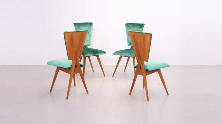 Pair of 1940s Italian Side Chairs 6