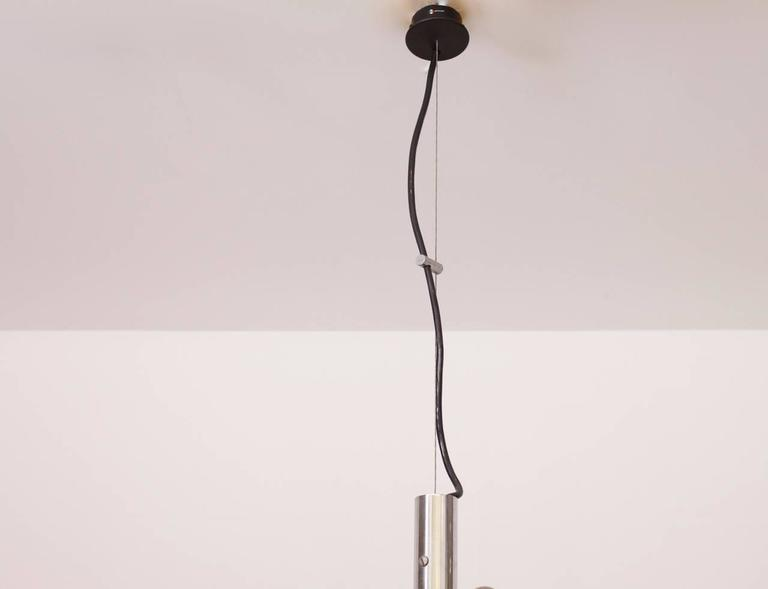 Italian Early 2097/30 Chandelier by Gino Sarfatti for Arteluce For Sale