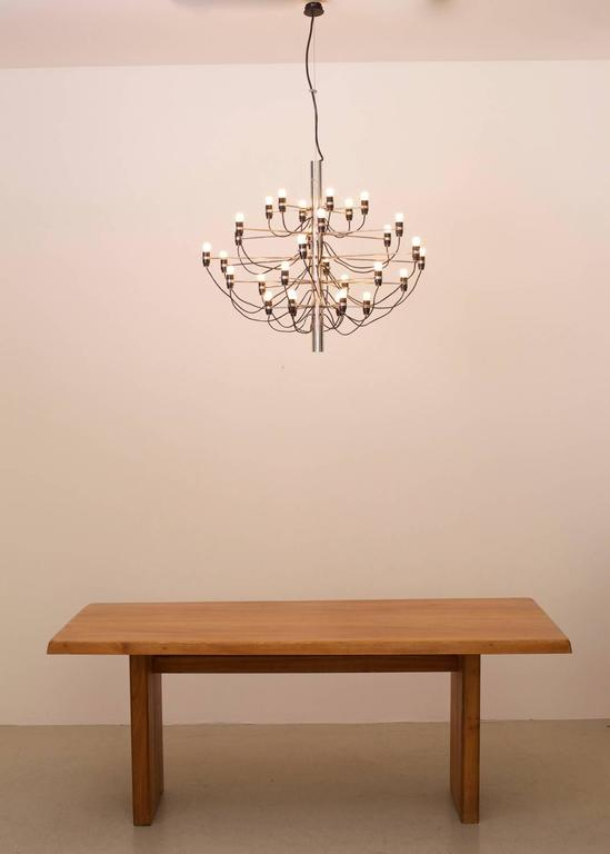 Early 2097/30 Chandelier by Gino Sarfatti for Arteluce For Sale 1