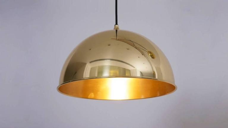 Florian Schulz Double Posa Pendant Lamp with Side Counter Weights 1