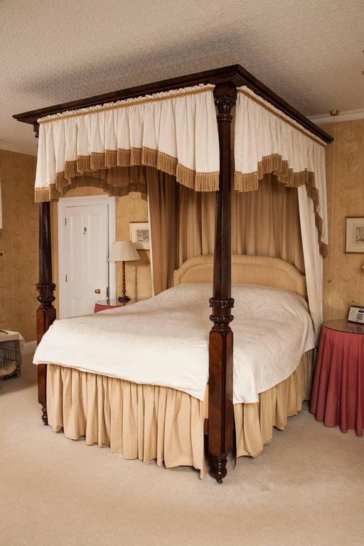 19th century william iv period mahogany four poster bed - Four poster bedroom sets for sale ...