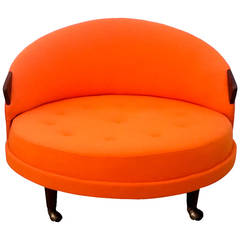 Round Adrian Pearsall Lounge Chair