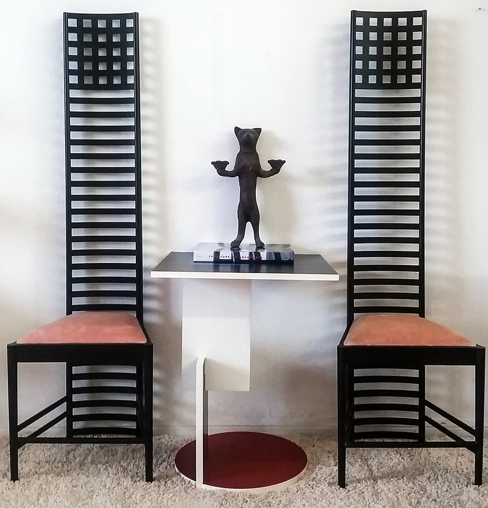 Charles Rennie Mackintosh Hill House Chairs At 1stdibs