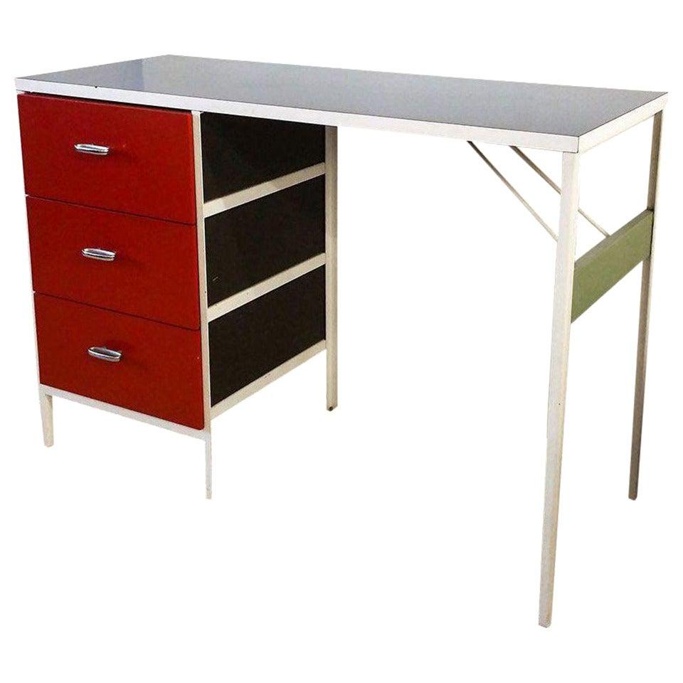 George Nelson 1950 39 S Steel Frame Desk For Herman Miller At