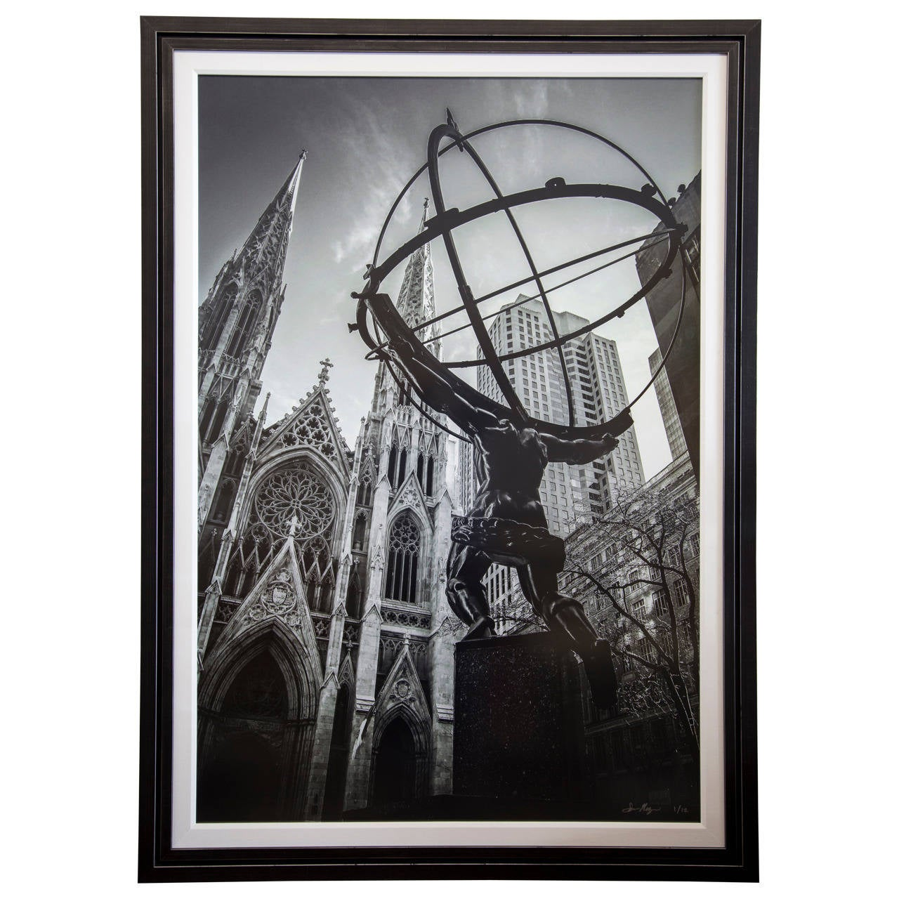"Signed Numbered ""Atlas"" Large Format Photography by Sam Nizam Featured on NatGeo For Sale"