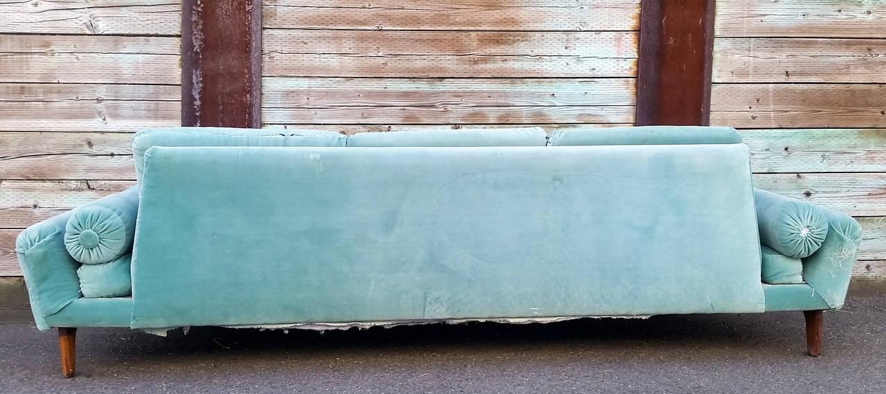 Rare Sculptural Adrian Pearsall Gondola Sofa 5