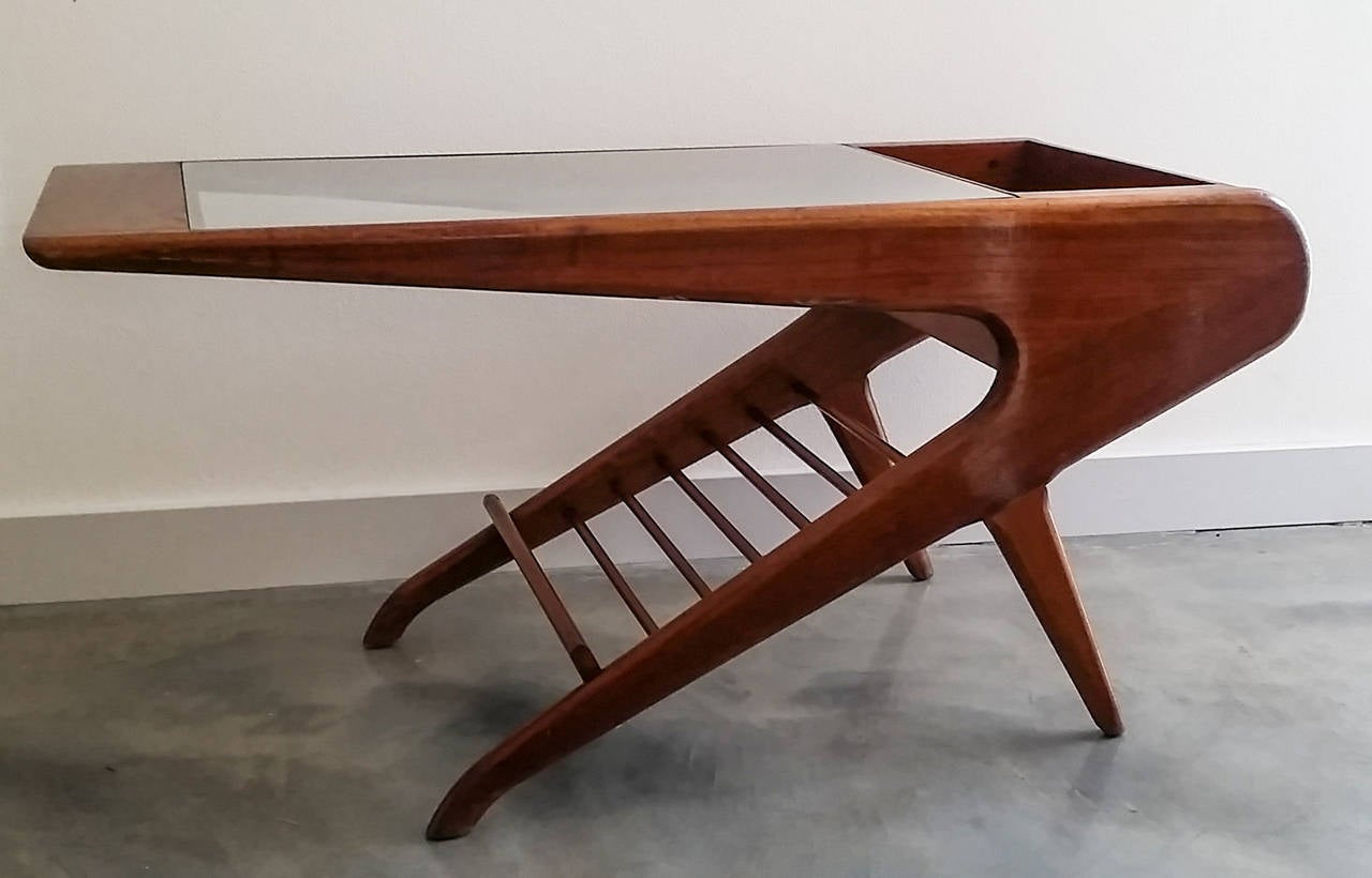 Sculptural mid century coffee table in the style of ico parisi at sculptural mid century coffee table in the style of ico parisi 3 geotapseo Choice Image