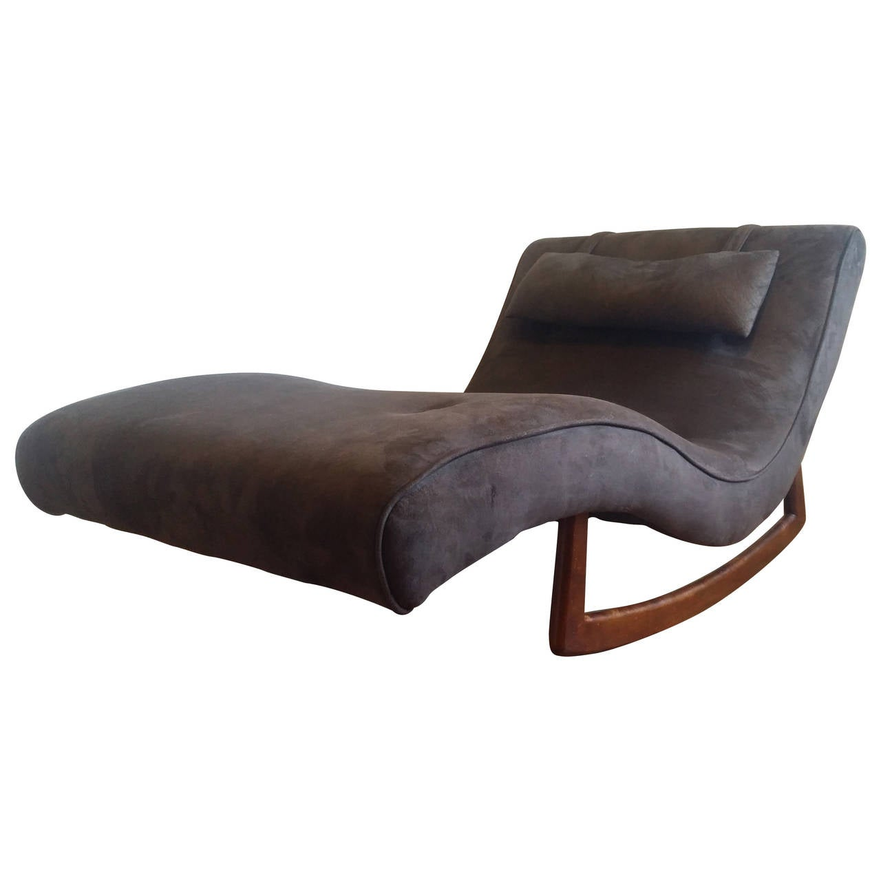 Adrian pearsall wave chaise rocker for craft associates at for Adrian pearsall rocking chaise