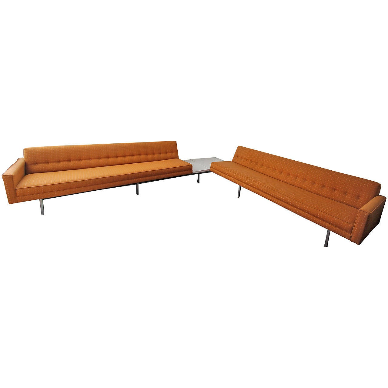 George Nelson For Herman Miller Modular Sectional Sofa At